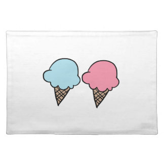 Cute Ice Cream shirts, accessories, gifts Placemat