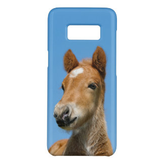 Cute Icelandic Horse Foal Pony Head Front Photo *. Case-Mate Samsung Galaxy S8 Case