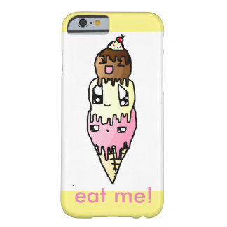cute icream phone case barely there iPhone 6 case