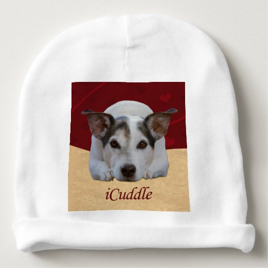 Cute iCuddle Jack Russel Dog Baby Beanie