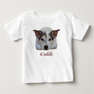 Cute iCuddle Jack Russel Dog Baby T-Shirt