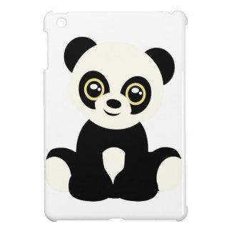 Cute illustrated panda iPad mini case