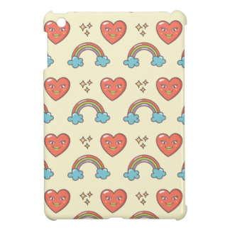 Cute Illustrated Pattern iPad Mini Cover
