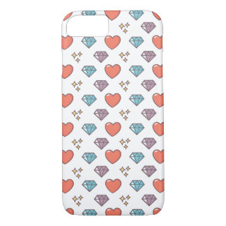 Cute Illustrated Pattern iPhone 7 Case
