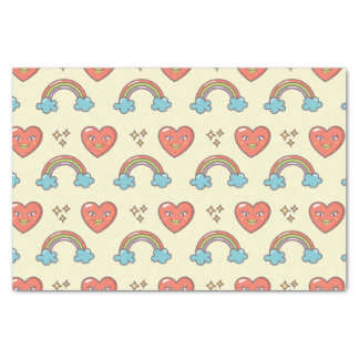 Cute Illustrated Pattern Tissue Paper