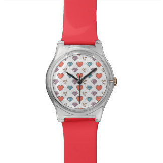 Cute Illustrated Pattern Watch
