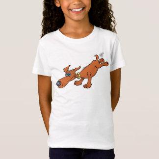 Cute illustration of a sausage dog. T-Shirt