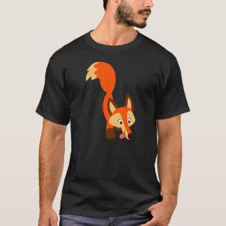 Cute Inquisitive Cartoon Fox T-Shirt