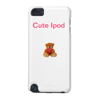 Cute Ipod - Cute Teddy iPod Touch 5G Covers