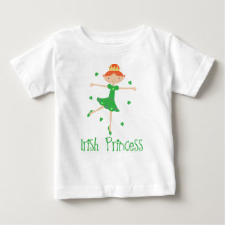 Cute Irish Princess Baby Infant Tee Shirt