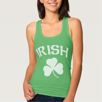Cute Irish Shamrock St. Patrick's Day Singlet