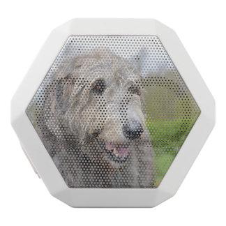 Cute Irish Wolfhound White Boombot Rex Bluetooth Speaker