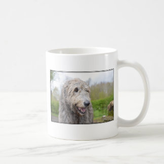 Cute Irish Wolfhound Coffee Mugs