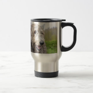 Cute Irish Wolfhound Coffee Mug