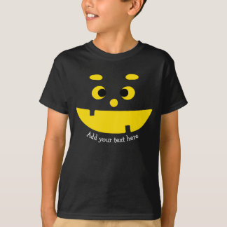 Cute Jack O Lantern Halloween Funny Pumpkin Face T-Shirt