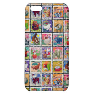 Cute Japan Year of Animal Stamp Pattern iPhone 5C Covers