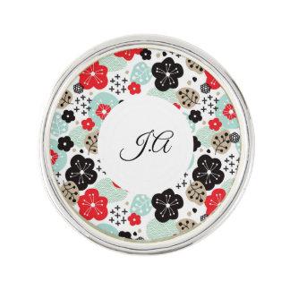 Cute Japanese patterns design Lapel Pin