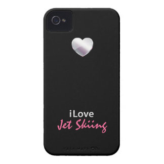 Cute Jet Skiing iPhone 4 Case-Mate Cases