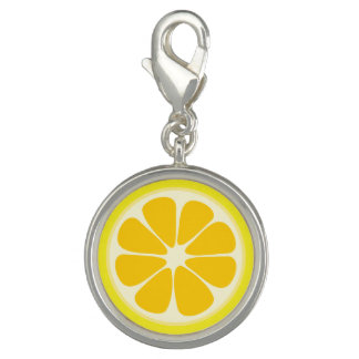 Cute Juicy Citrus Lemon Tropical Fruit Slice