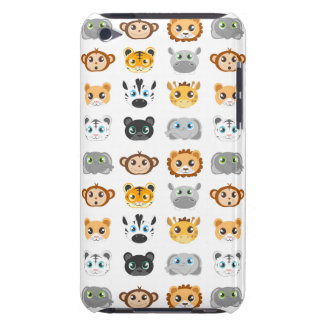 Cute Jungle Animals Pattern iPod Touch Case