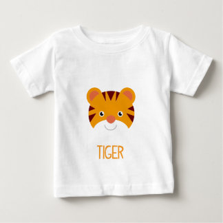 CUTE JUNGLE ANIMALS - TIGER BABY T-Shirt