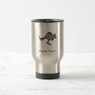 Cute Kangaroo; Cool Stainless Steel Travel Mug