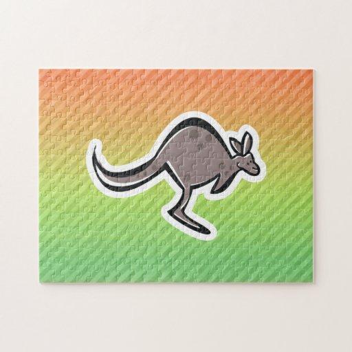 Cute Kangaroo Design Puzzle