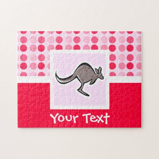 Cute Kangaroo Puzzles