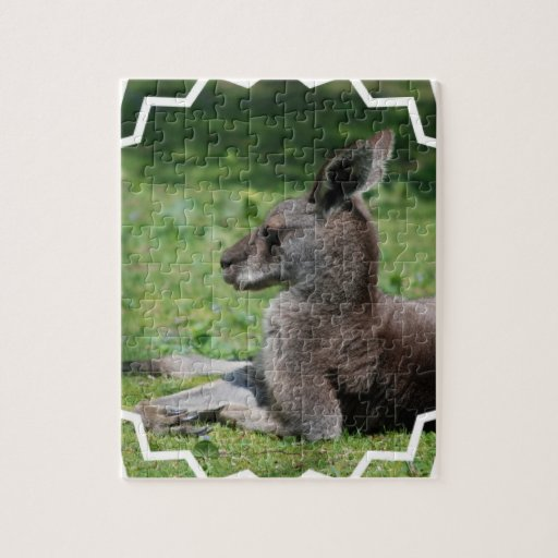 Cute Kangaroo  Puzzle