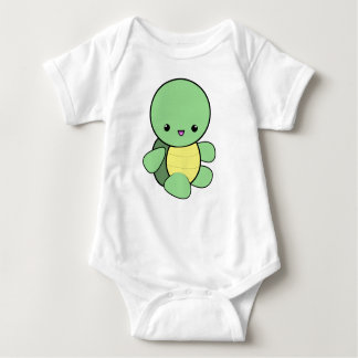 Cute kawaii baby turtle creeper