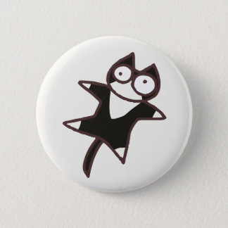 Cute Kawaii Bicolor cat {Lots of Cats} 6 Cm Round Badge
