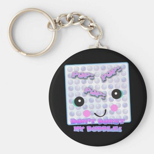 Cute Kawaii Bubble Wrap Key Chain