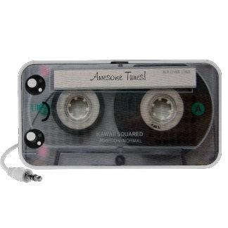 Cute Kawaii Cassette Tape Travelling Speakers