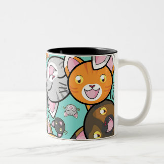 Cute Kawaii Cat Mug