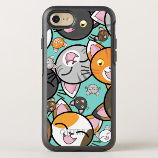 Cute Kawaii Cats iPhone 7 Otterbox Case