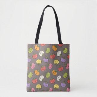 Cute Kawaii Colorful Tomatoes Pattern Tote Bag