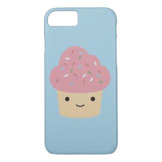 Cute Kawaii Cupcake with Pink Icing iPhone 7 Case
