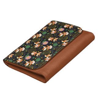 Cute kawaii goldfish pond wallet for women