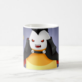 Cute Kawaii Halloween Vampire candy corn Coffee Mug