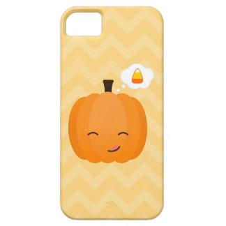 Cute Kawaii Jack o'Lantern and Candy Corn iPhone 5 Cover
