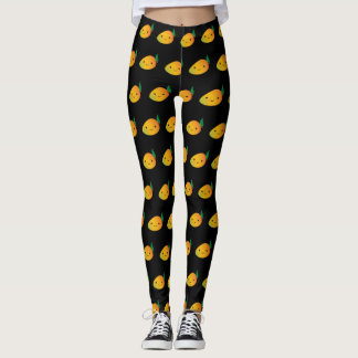 Cute Kawaii Mango Leggings