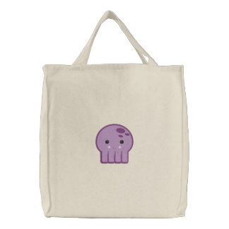 cute kawaii octopus embroidered bags