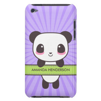 Cute Kawaii Panda Personalized iPod Touch Case