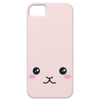 Cute, kawaii, pink bunny design iPhone 5 case