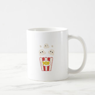 Cute Kawaii Popcorn Coffee Mug