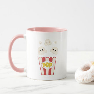 Cute Kawaii Popcorn Mug