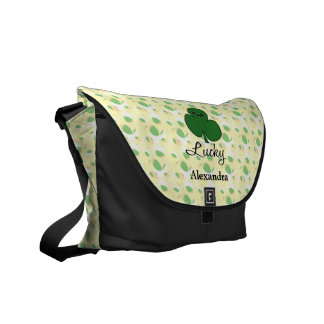 Cute Kawaii Shamrock Commuter Bags