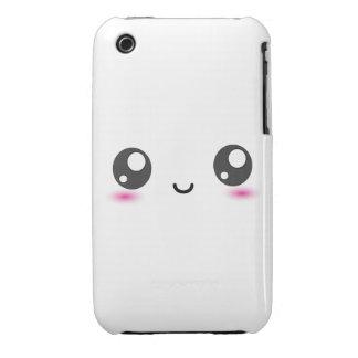 Cute Kawaii Smiley iPhone 3 Cases