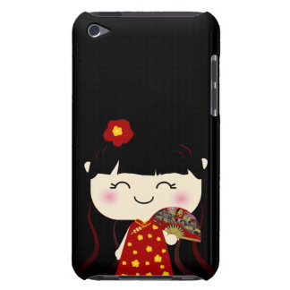 Cute Kawaii Traditional Chinese Girl Squeable Case-Mate iPod Touch Case