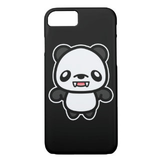Cute Kawaii Vampire Panda iPhone 8/7 Case